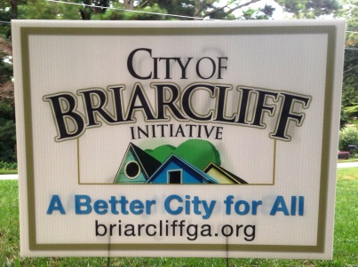 Briarcliff sign